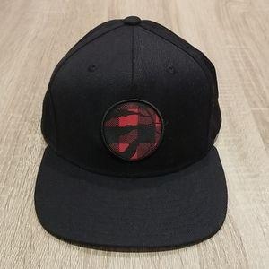 Raptors Snapback Hat.